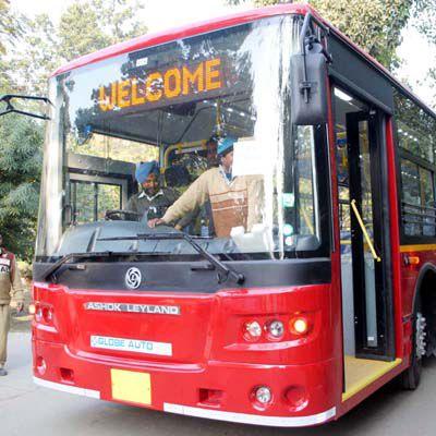 bus in jaipur