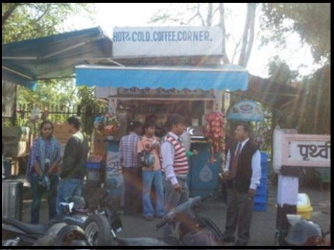 Jaipur Street Food Places, Best coffee in Jaipur