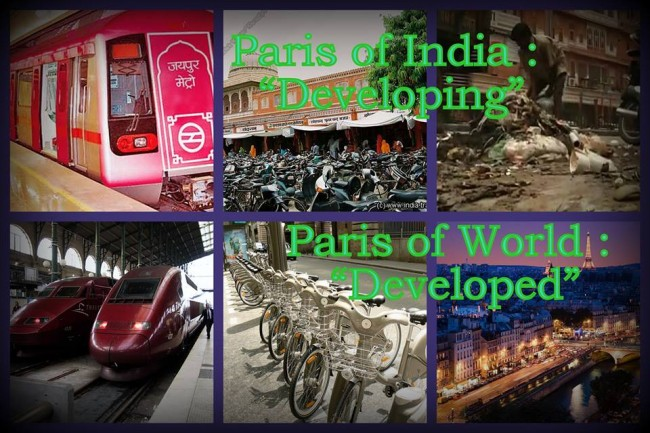 Developing Jaipur