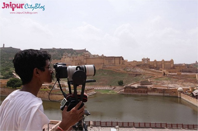 Gigapixel image of Amer Fort Jaipur
