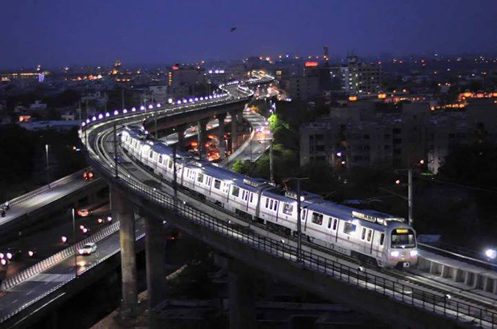 Jaipur Elevated Road And Jaipur Metro
