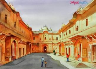 Morning Light at Nahargarh Fort, Jaipur