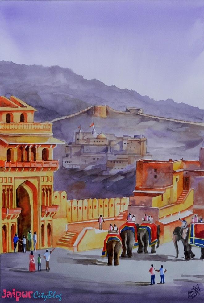 Jaipur in Paintings
