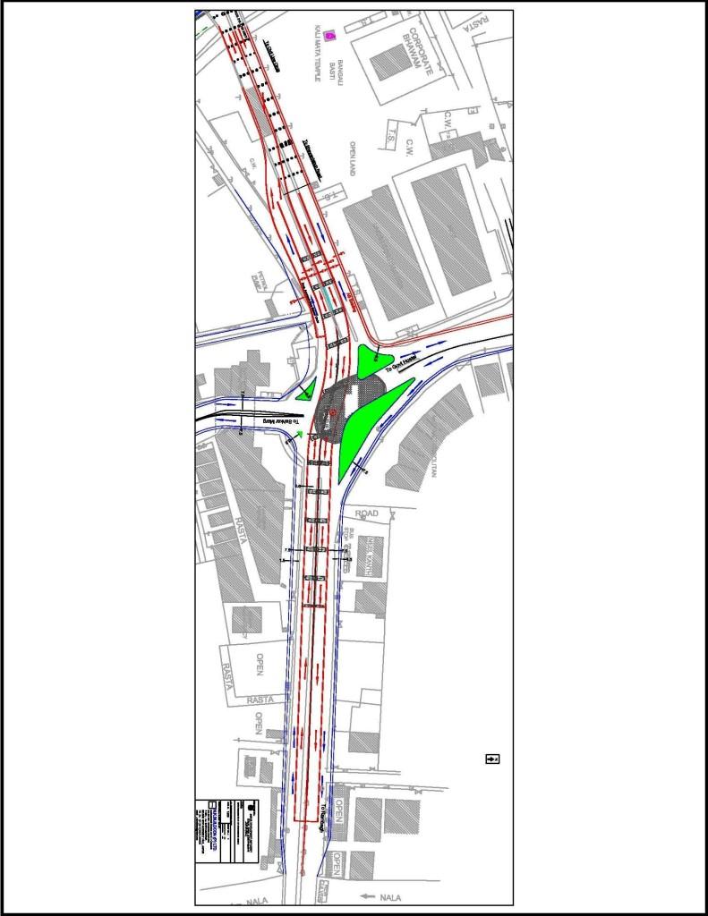 Upcoming Jaipur elevated road plan