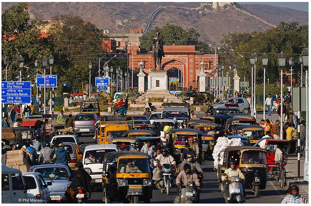 Roads Of Jaipur