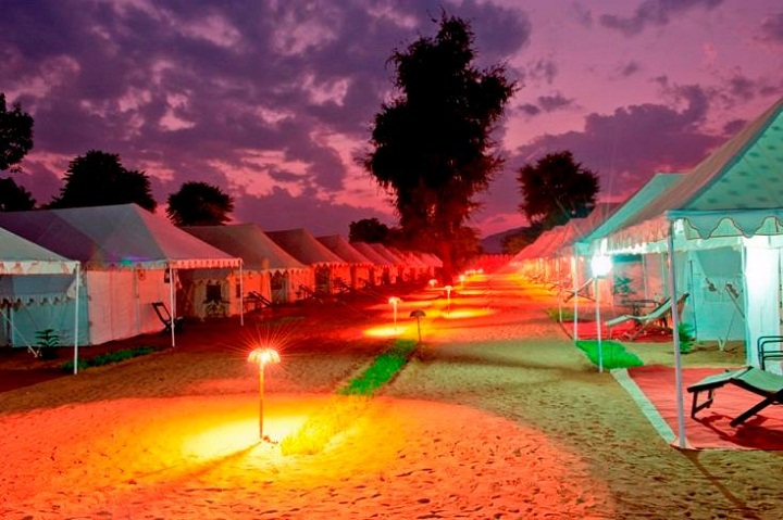 camps in pushkar