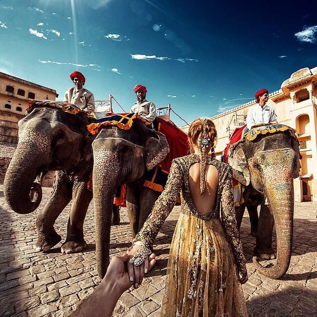 elephant ride in jaipur