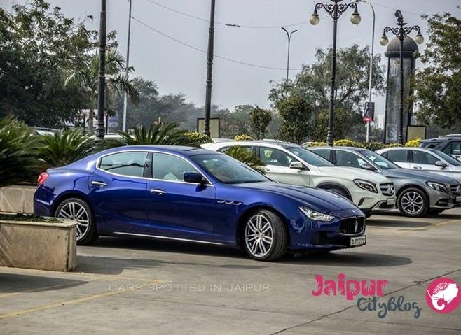 Maserati Ghibli in Jaipur