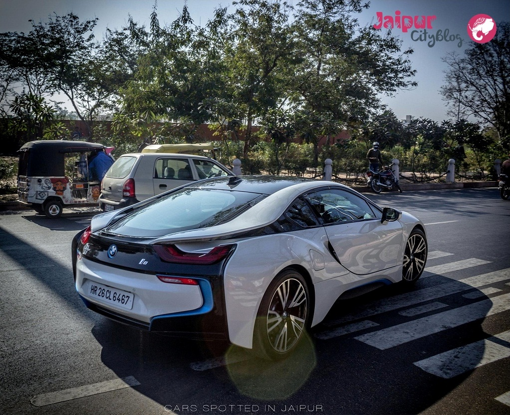 BMW i8 in Jaipur