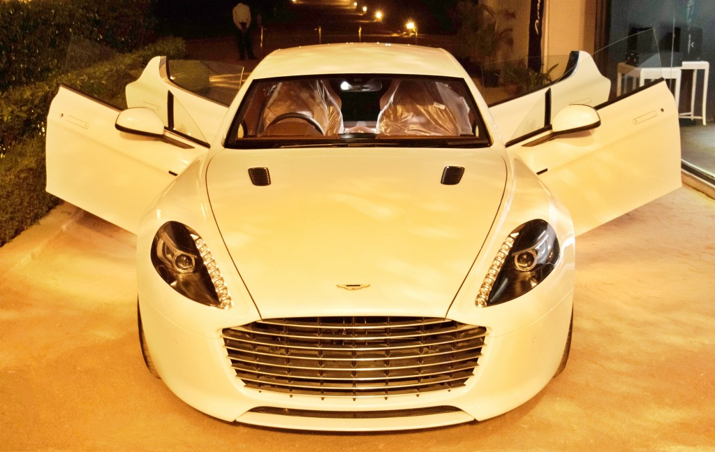 Aston Martin in Jaipur