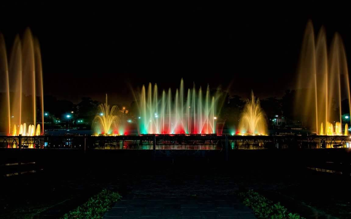 Image result for jawahar circle at night