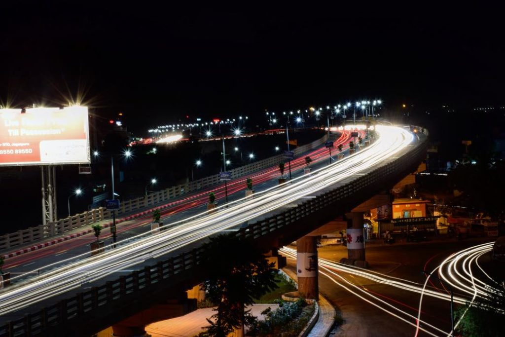 Elevated Road in Jaipur