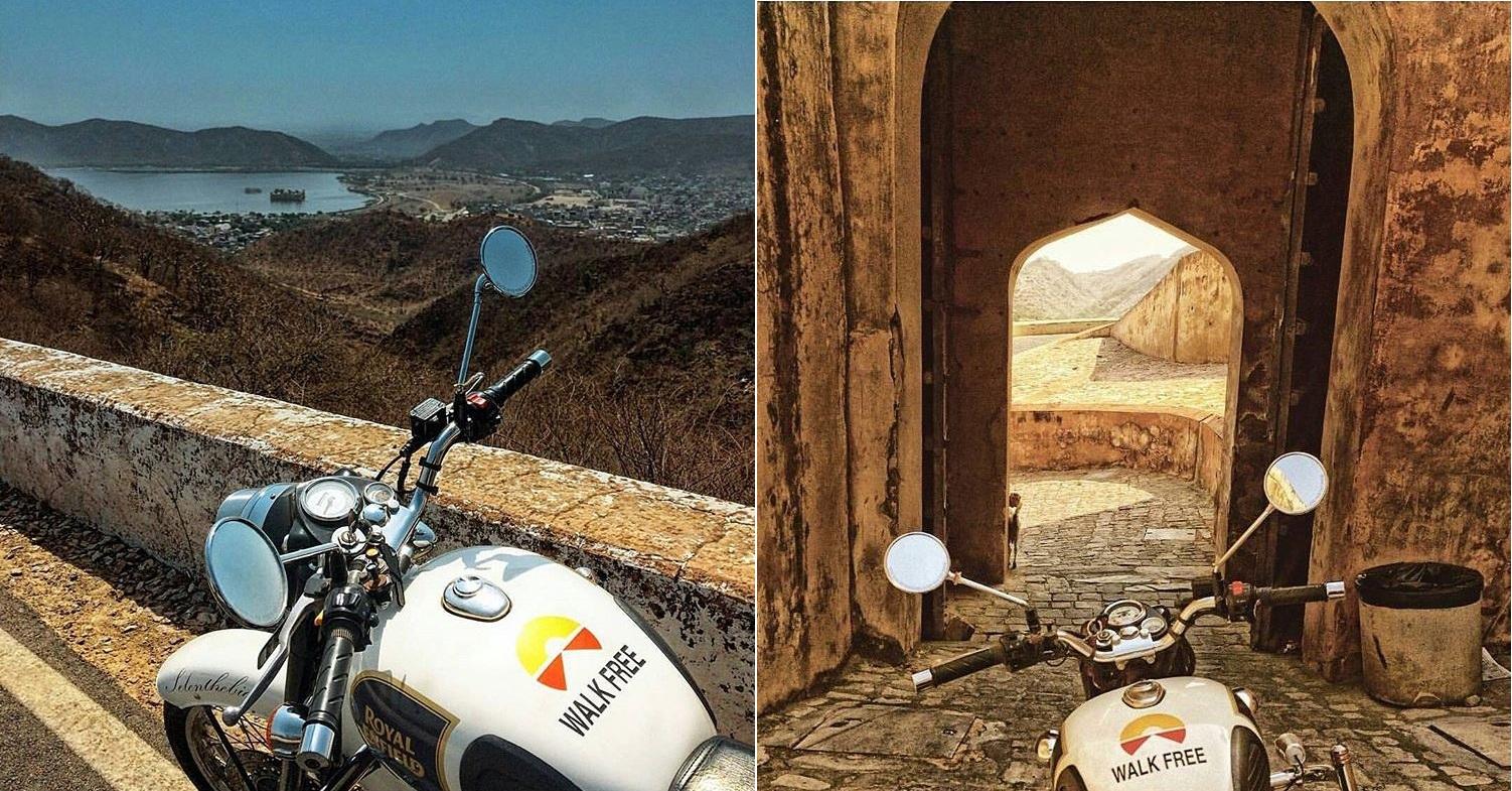 travelers in Jaipur