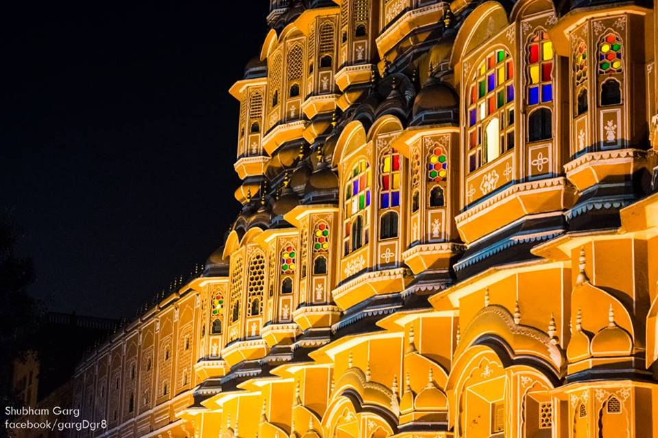 Night Life in Jaipur