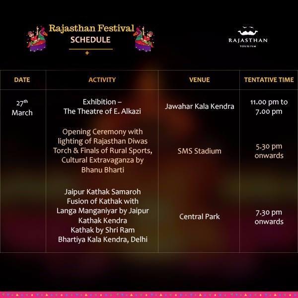Rajasthan Festival Venue