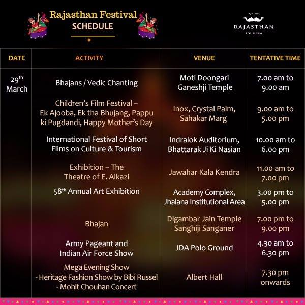 Rajasthan Festival Time
