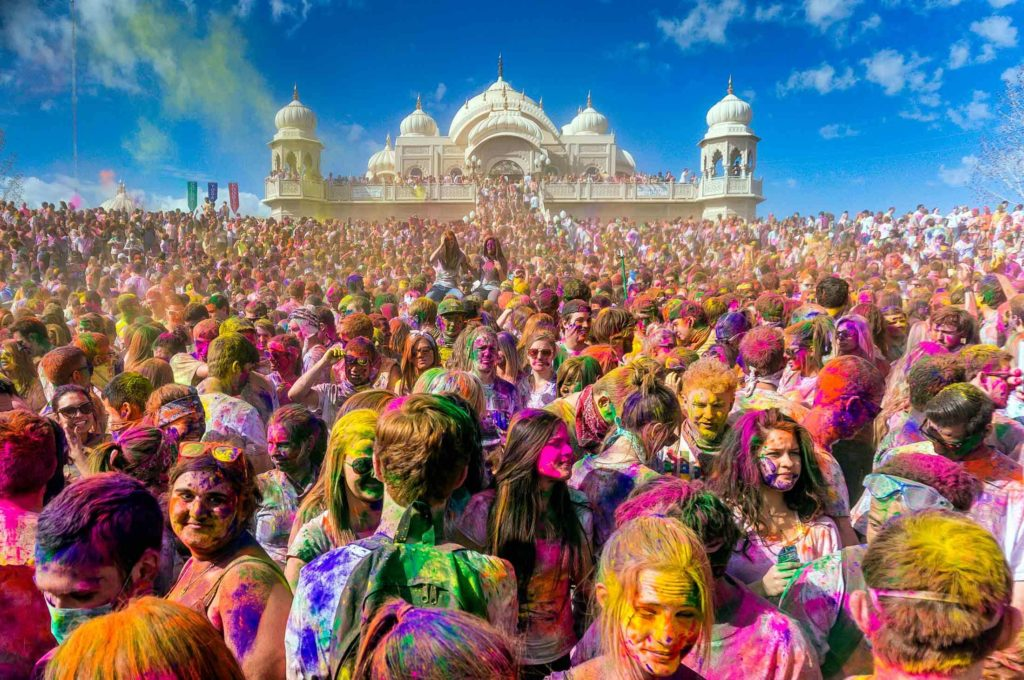 holi in pushkar