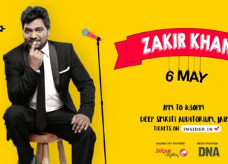 Zakir Khan in Jaipur