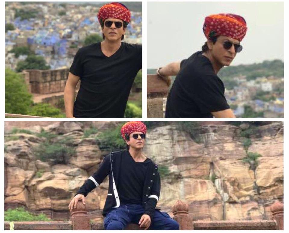 Shahrukh khan in jaipur