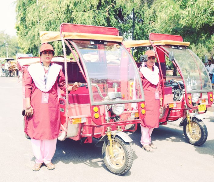 e-rickshaws in jaipur
