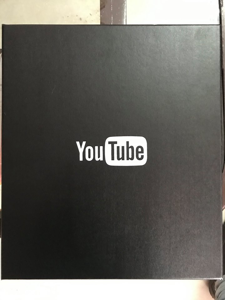 award from Youtube