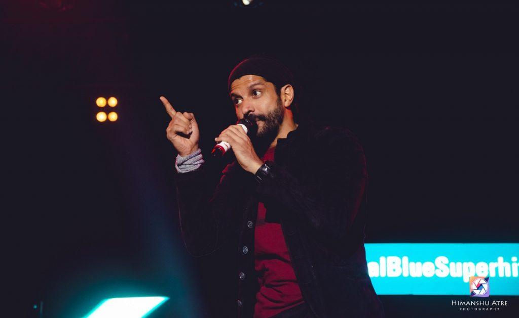 Farhan Akhtar Live performance in Jaipur