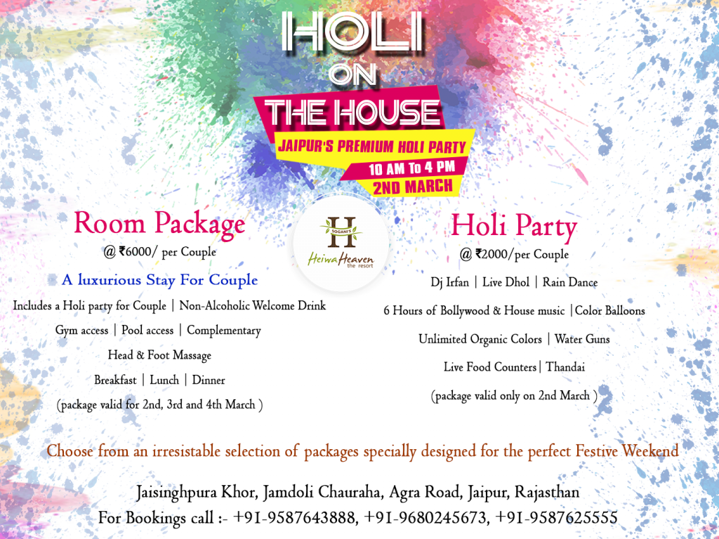Holi Party in Jaipur