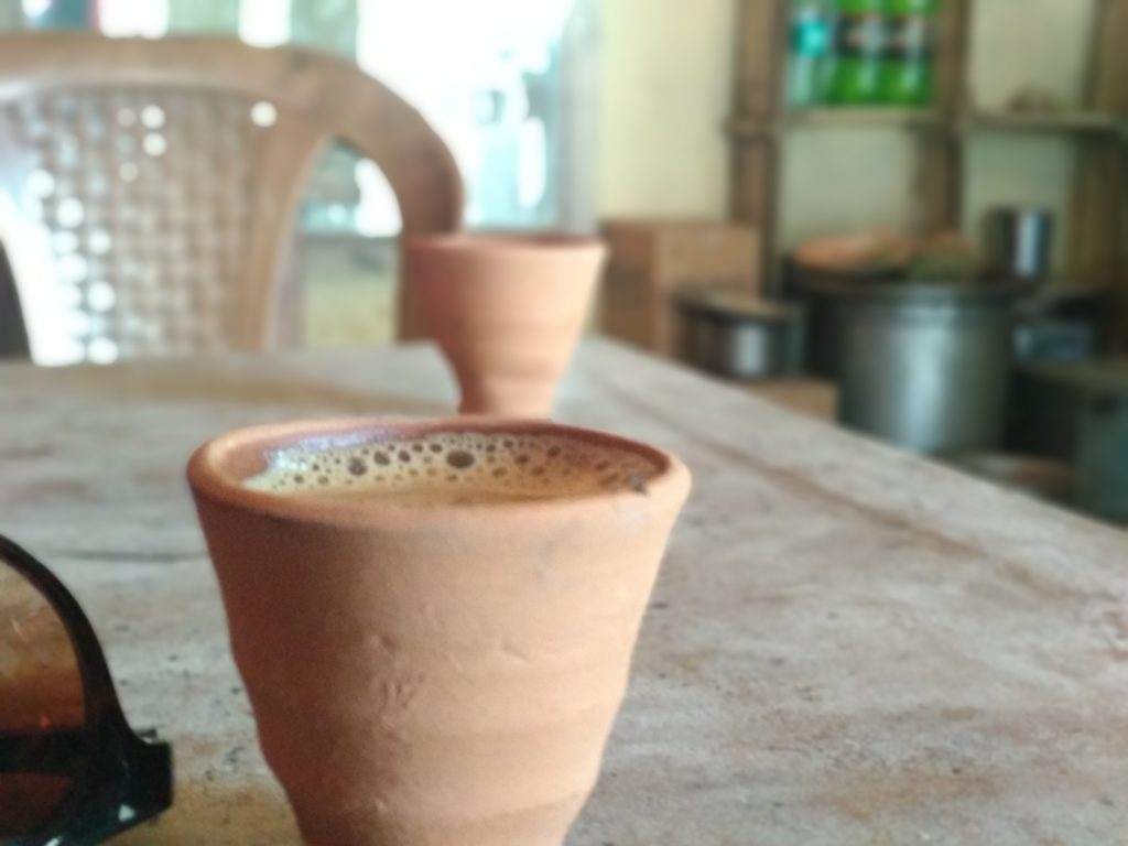 Kulhadi chai at sikandara