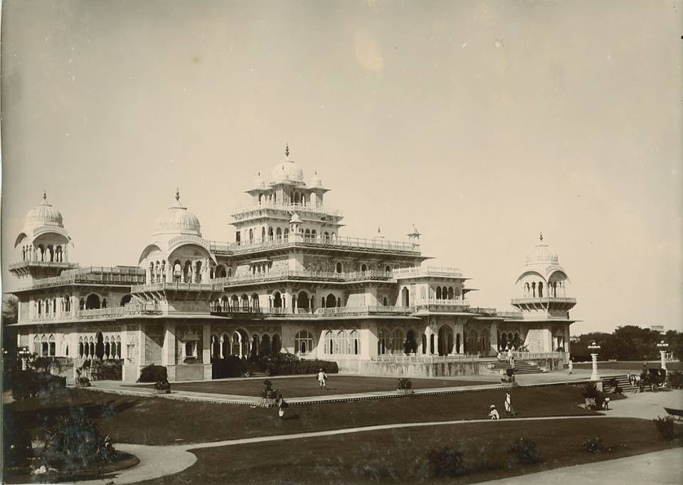 Albert Hall, Jeypore c.1890