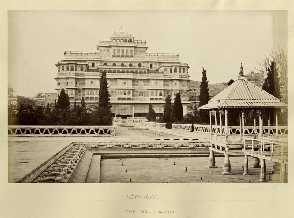 Chandra Mahal jaipur palace,1870