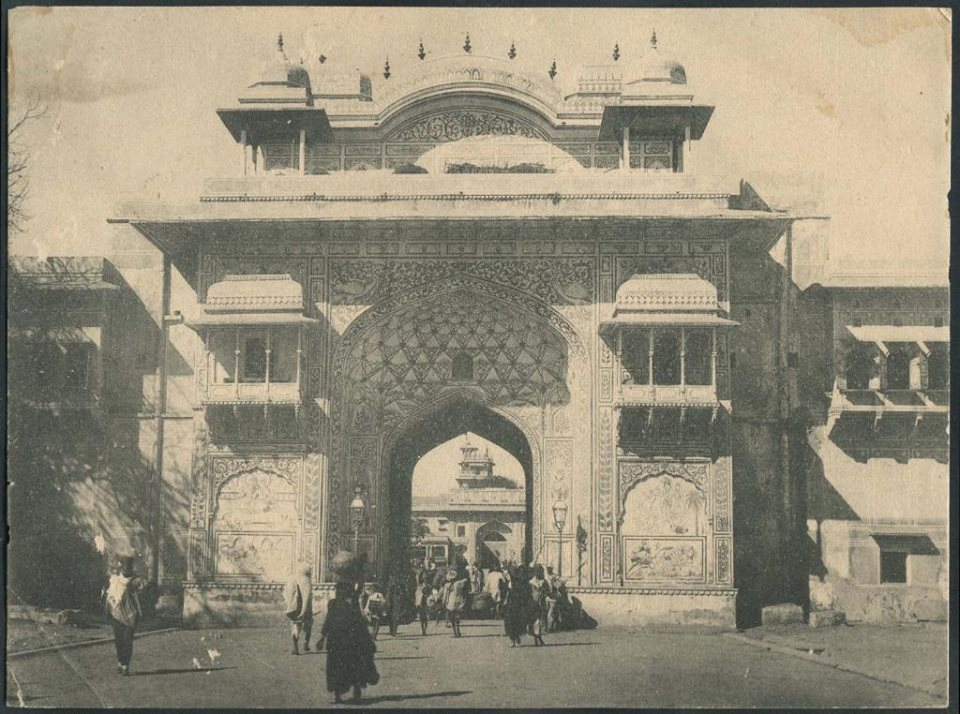 city palace gate