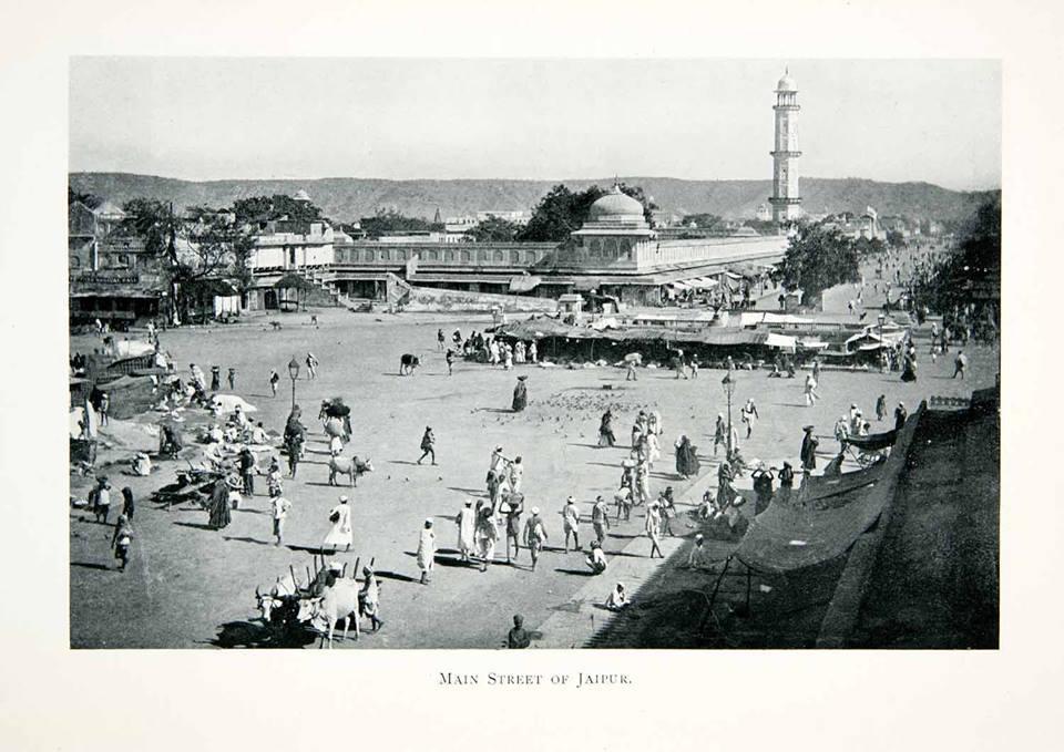 jaipur shahar, 1906
