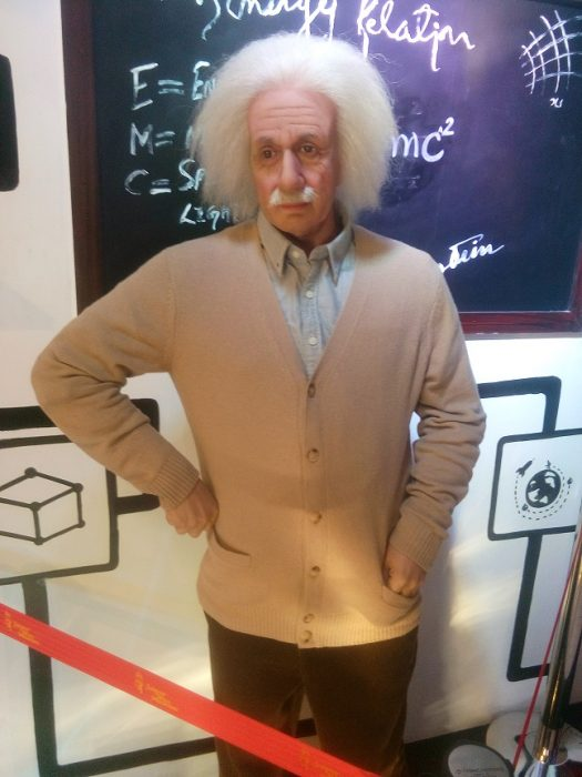 Jaipur Wax Museum: Albert Einstein.