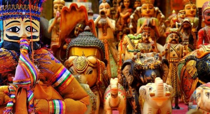 Puppet & Handicrafts from Jaipur