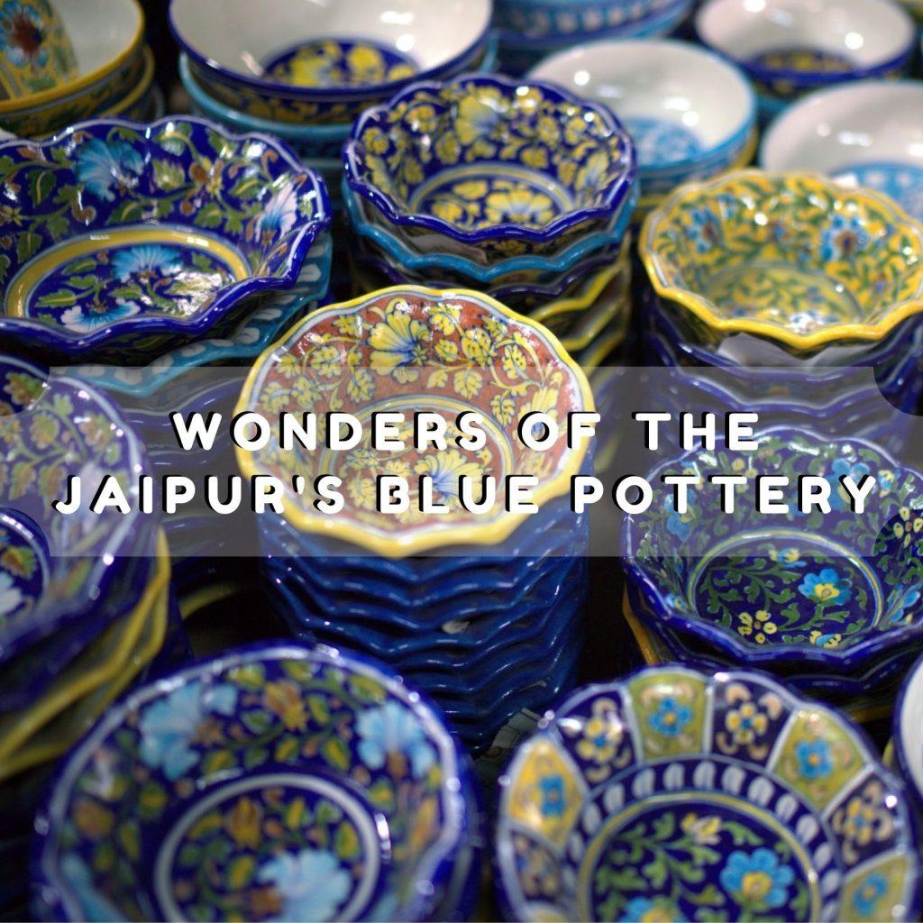 Jaipur's Blue Pottery, gopal saini
